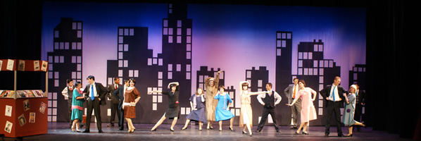 Throughly Modern Millie Show Photo